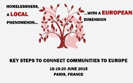 Conferencia Política 2015 FEANTSA –  La exclusión y la falta de vivienda, realidades locales con una  dimensión europea.