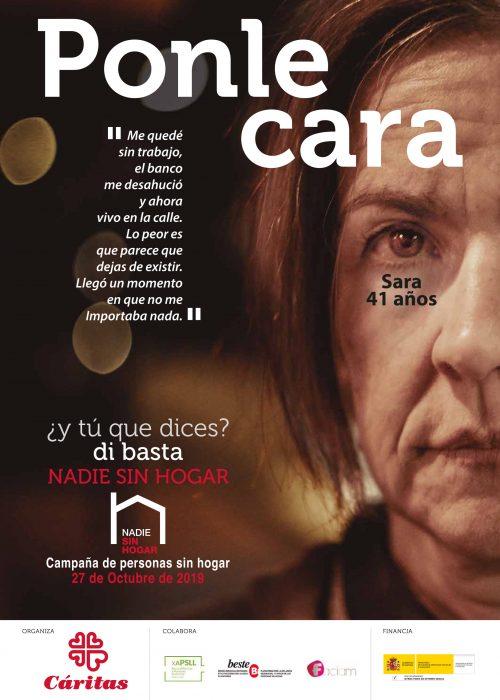 Cartel Sin Hogar19 27x38 CAST-1